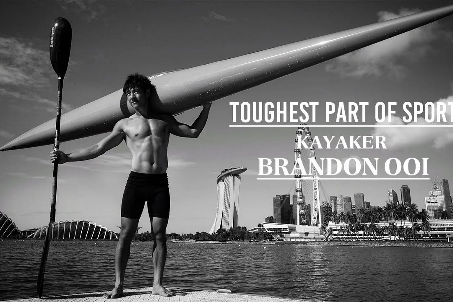 Driven to distraction | Kayaker Brandon Ooi | Toughest Part of Sport