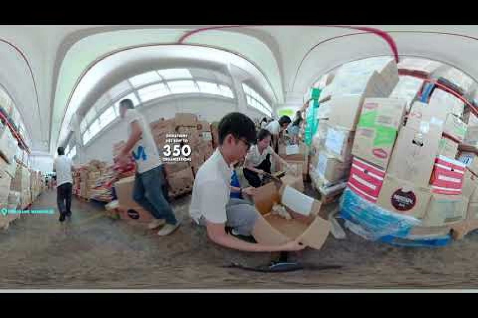 The Food Donation Journey in 360