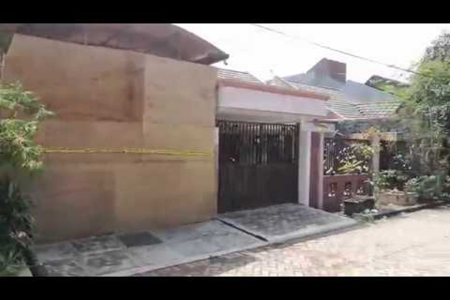 Suicide bomber Dita Oepriarto's home