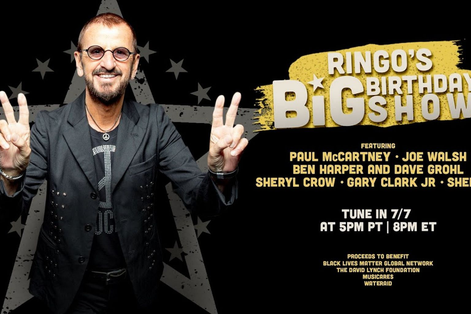 Tune In 7/7 For Ringo's Big Birthday Show!