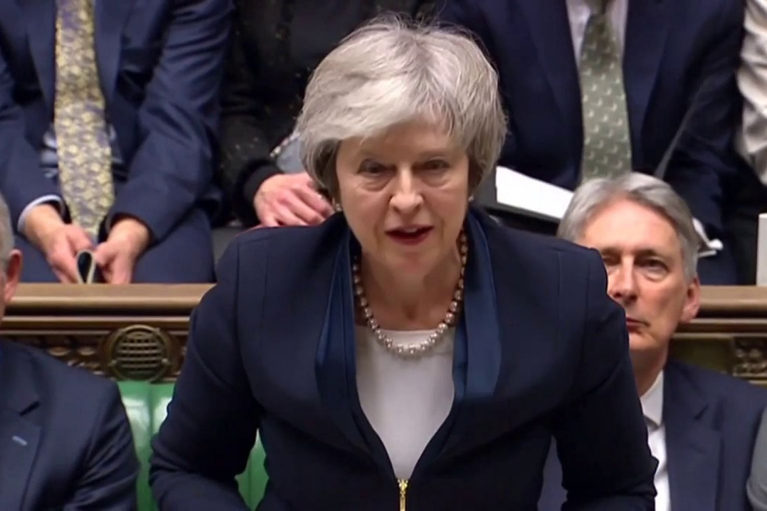 'The noes have it': Parliament votes down Brexit deal