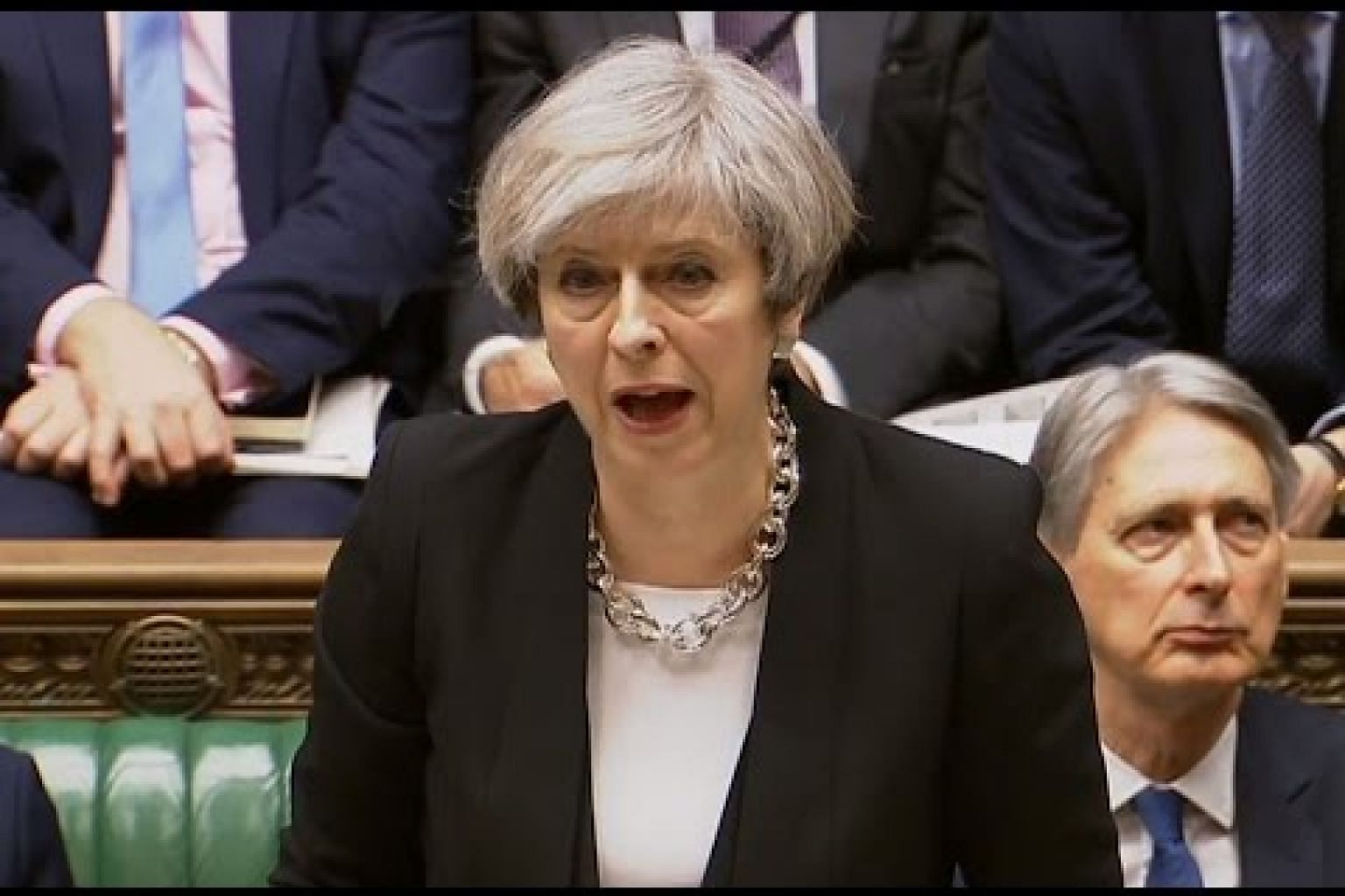 Watch live: Theresa May makes statement to Parliament