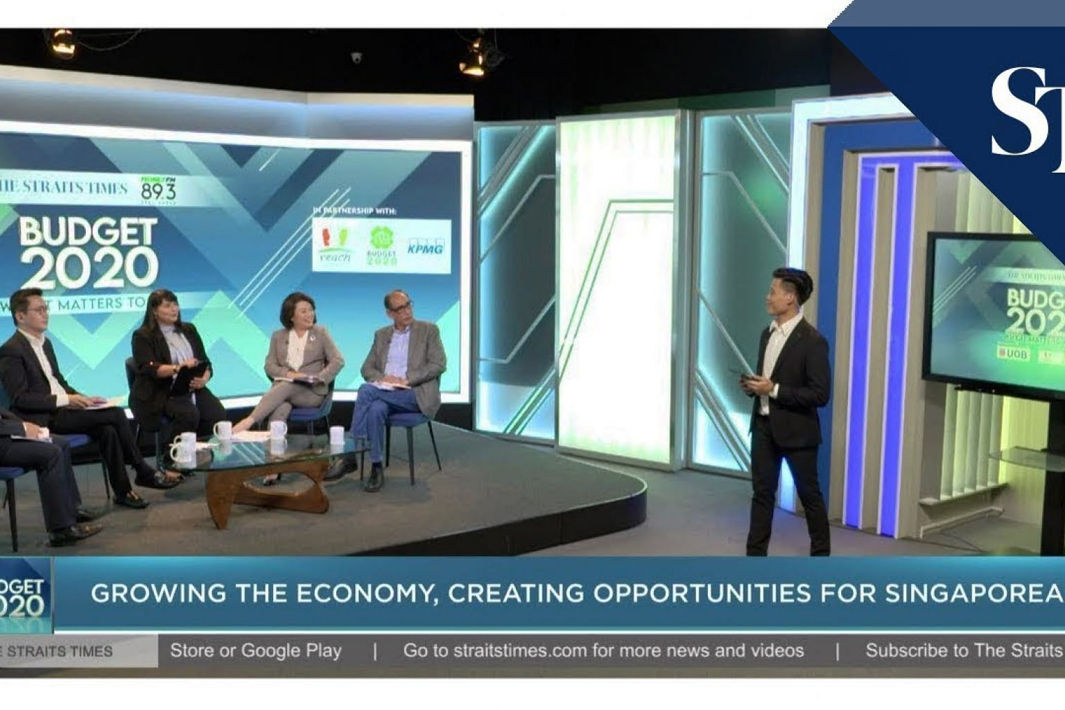 Singapore Budget 2020: Growing economy, creating opportunities | The Straits Times x Money FM 89.3