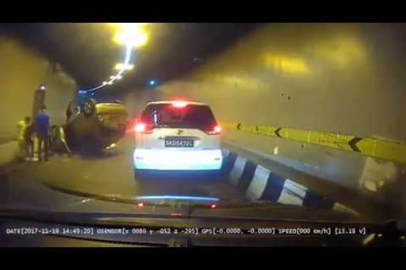 Accident in CTE tunnel