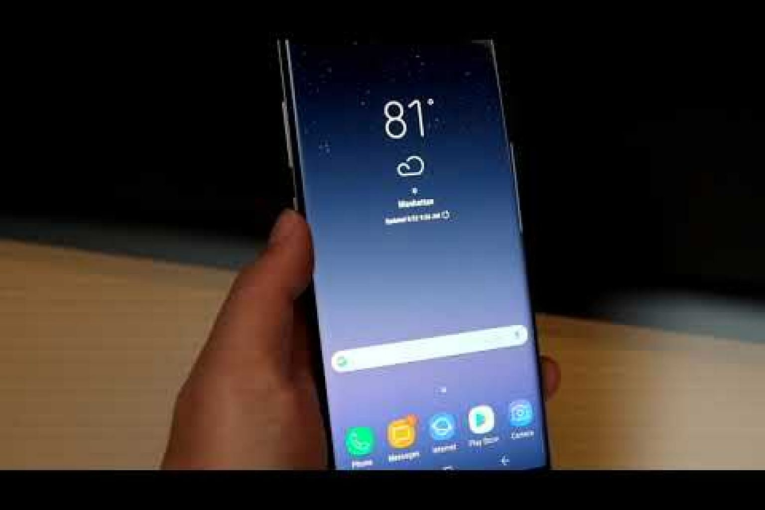 Samsung launches Galaxy Note8 phablet - first impressions