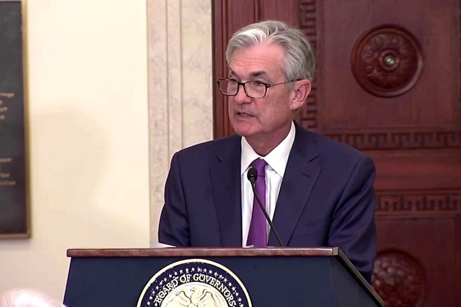 Fed's Powell: US economy 'in a good place'
