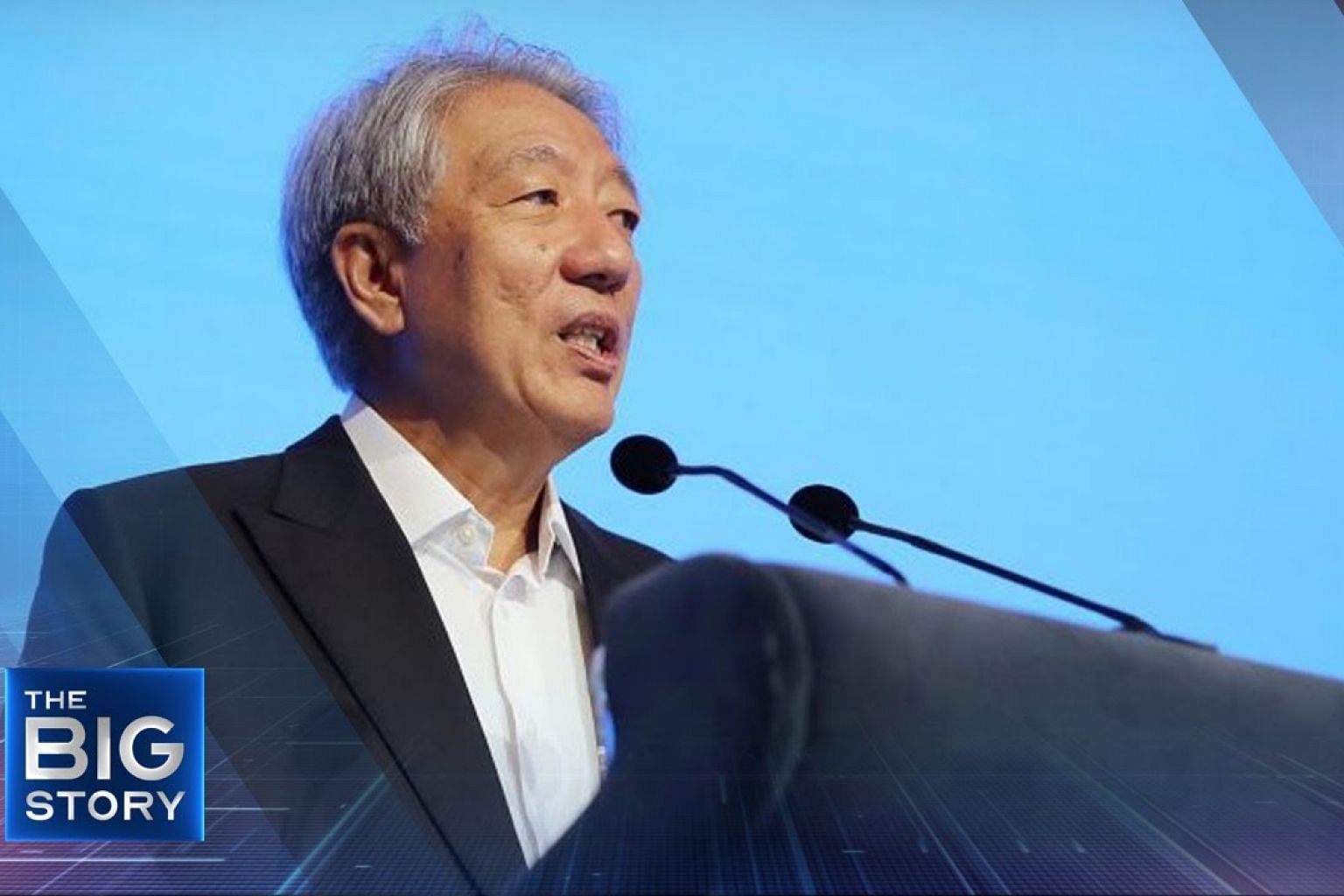 Resilience in a Changing External Environment: Senior Minister Teo Chee Hean | THE BIG STORY