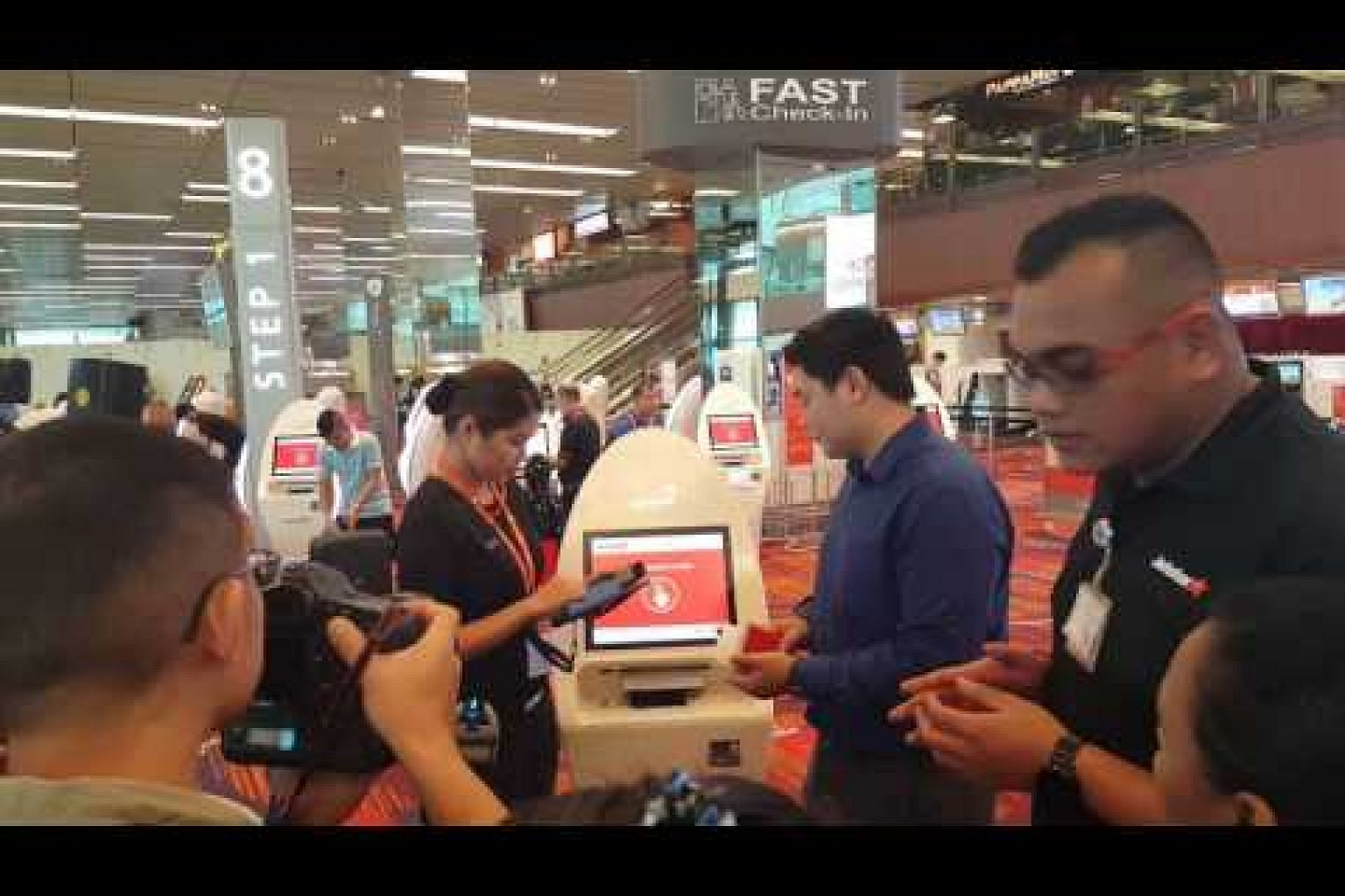 Jetstar Asia has deployed roving check-in agents to help ease queues