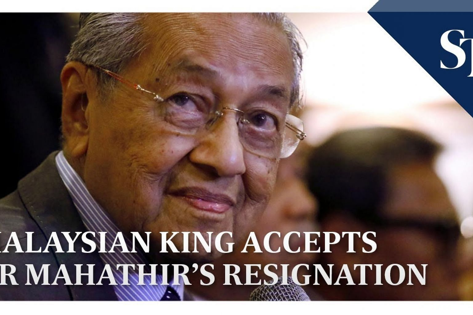 Malaysian King accepts Dr Mahathir's resignation | THE BIG STORY