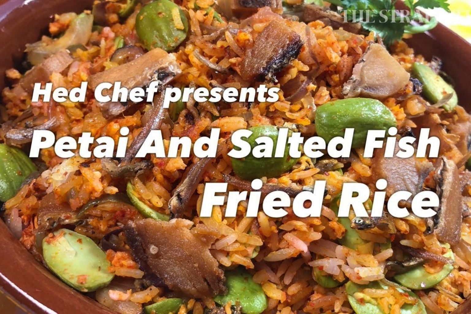 Petai And Salted Fish Fried Rice