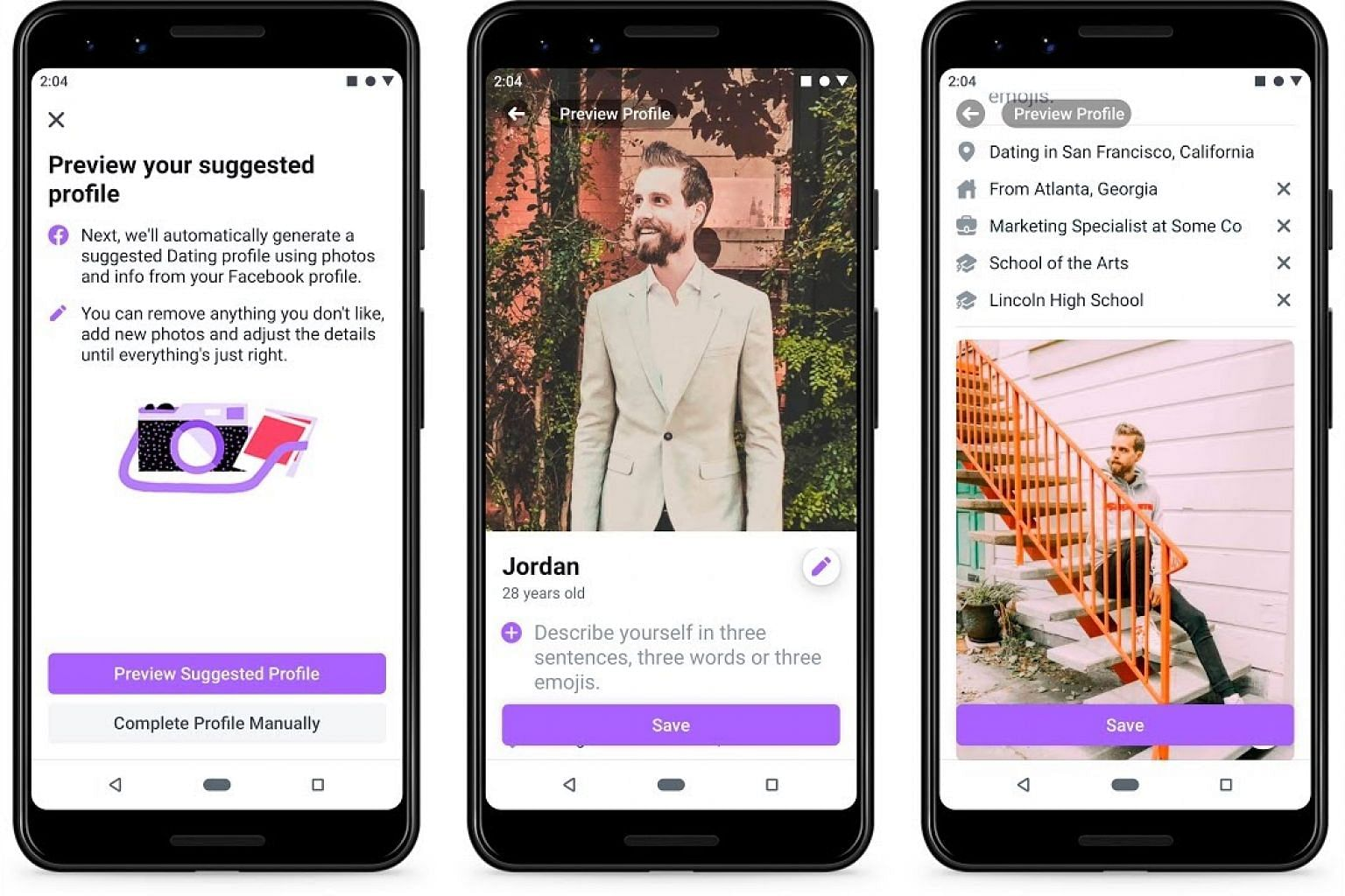 Facebook launches US dating service
