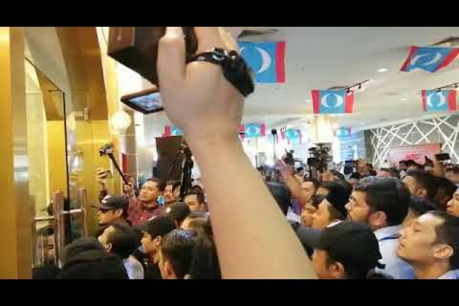 Chaos at PKR youth meet
