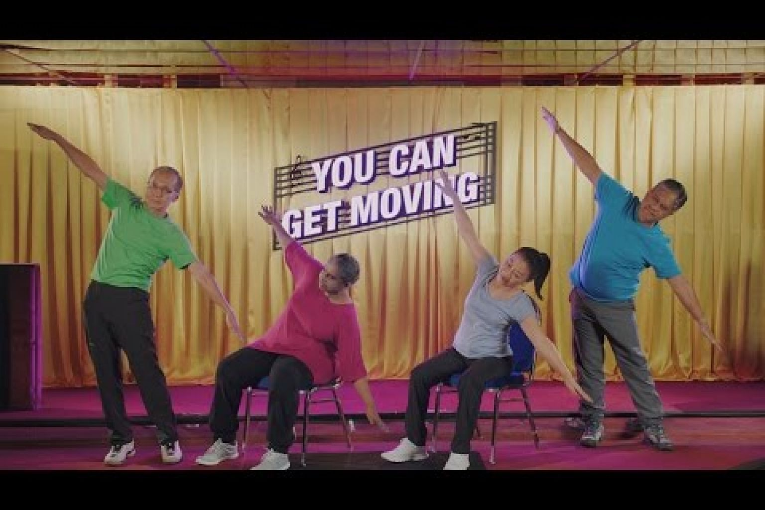 You Can Get Moving - Step by Step Demonstration Video (English version)