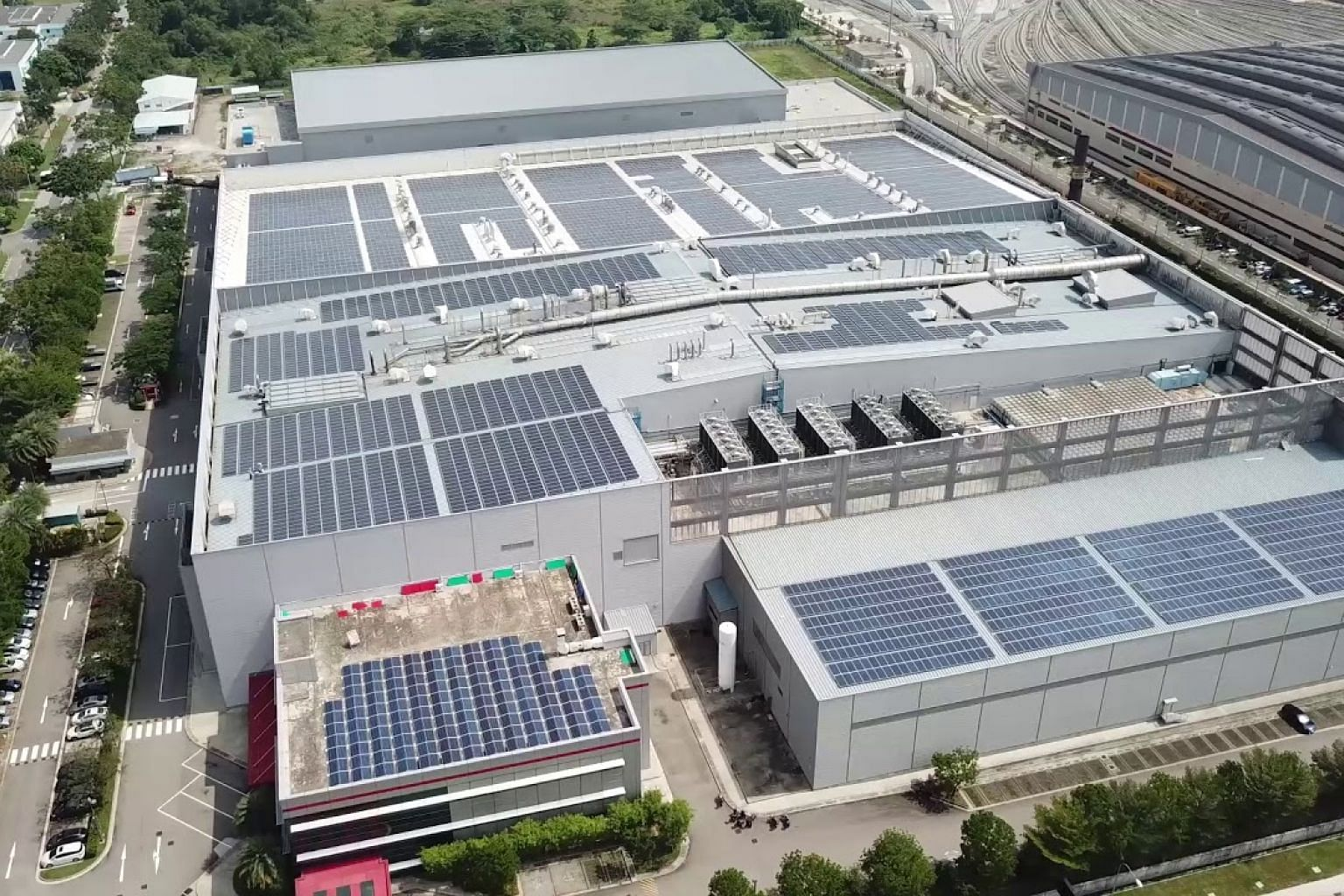 3M Building Solar Rooftop