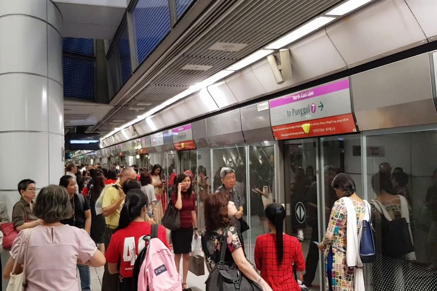 MRT services affected at Potong Pasir MRT station