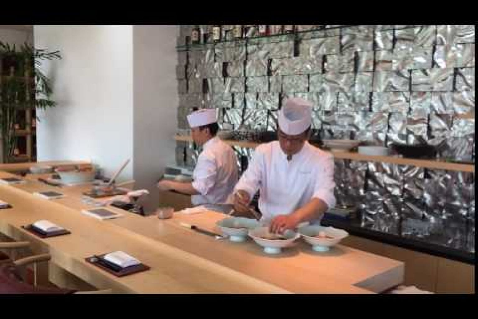 Nami, a new Japanese restaurant at the Shangri-La Hotel, Singapore