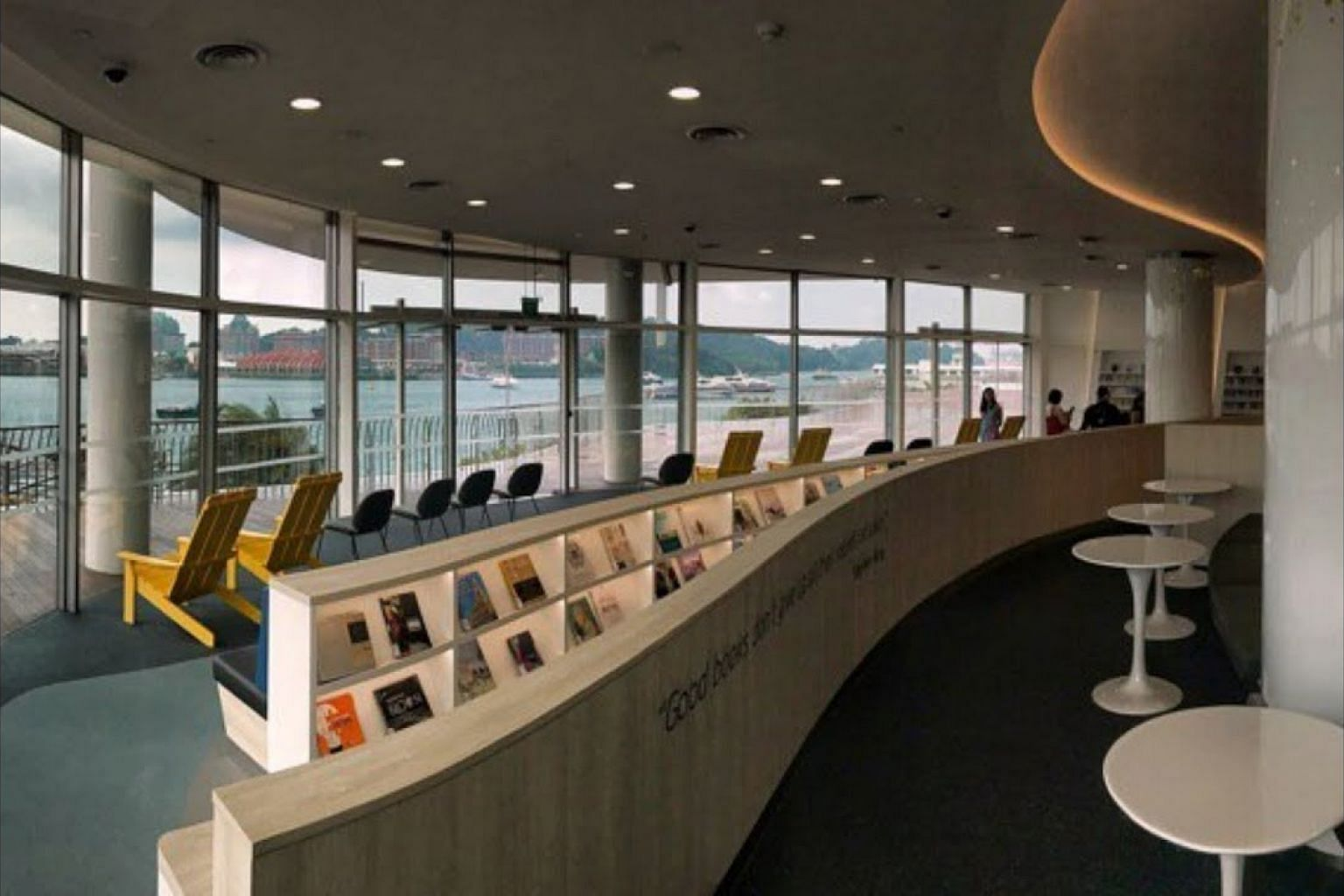 A walkthrough of the new library at VivoCity