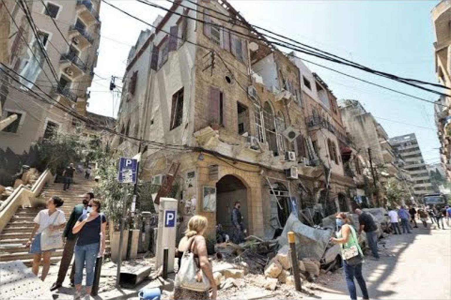 Beirut reels and anger grows in mass devastation