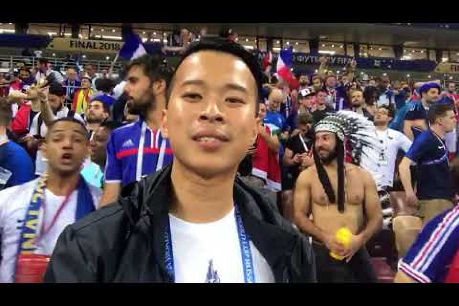 David Lee in Russia: France win second World Cup