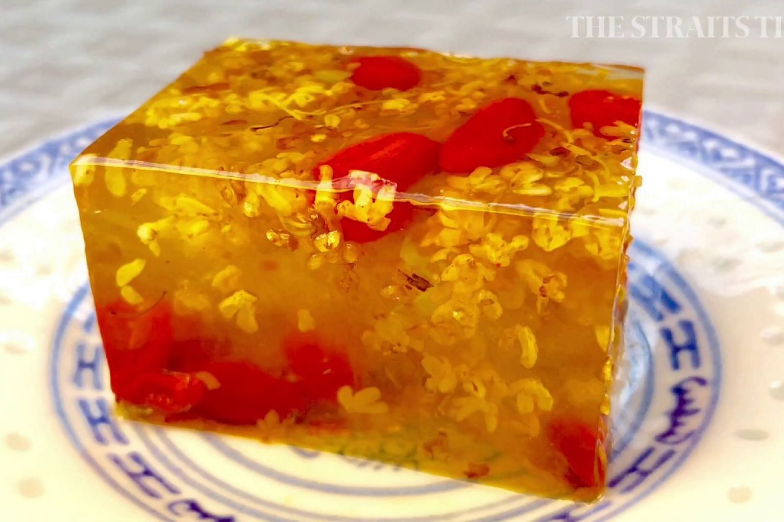 Hed Chef: Osmanthus Jelly