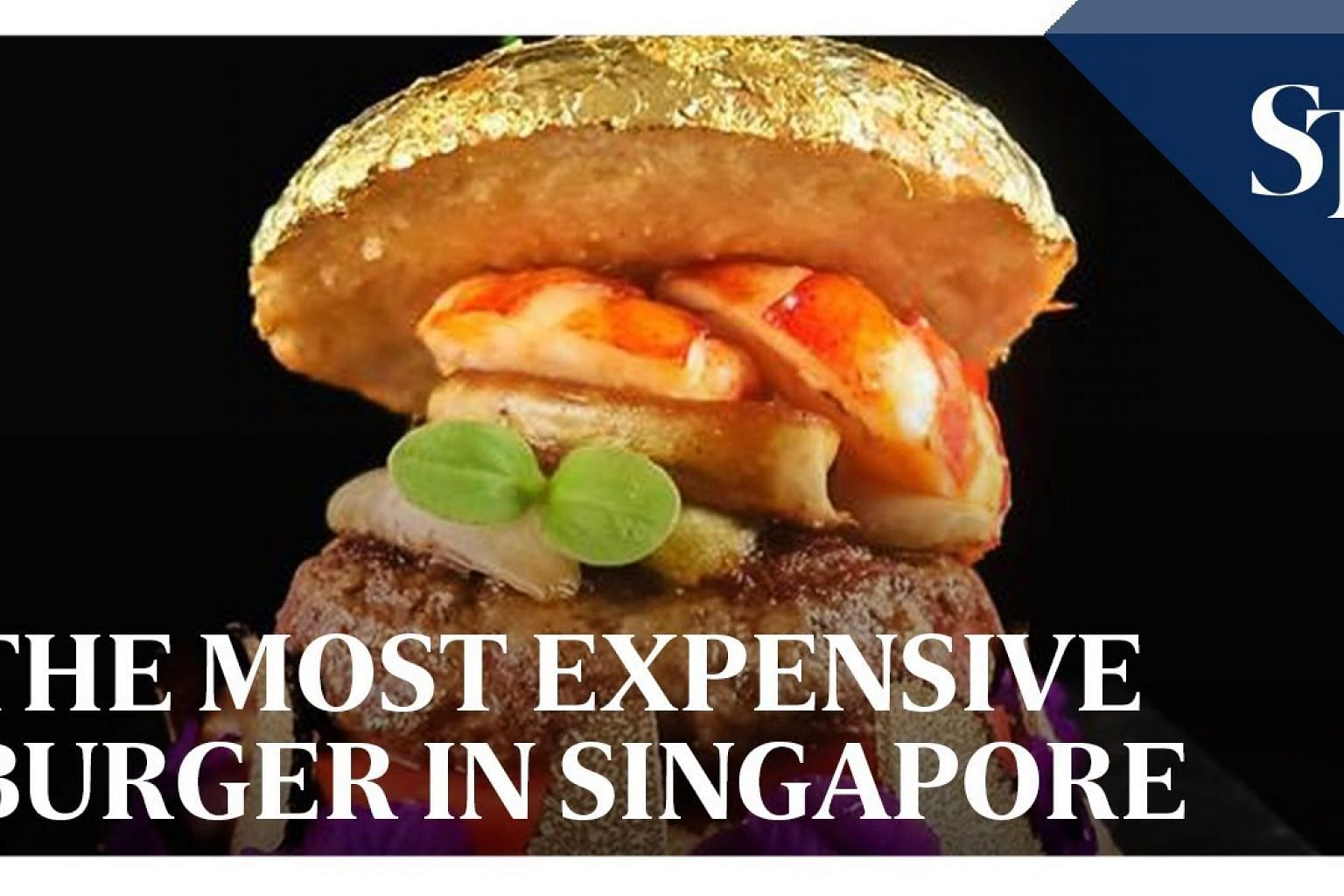 Preparation of 'The Most Expensive Burger in Singapore'
