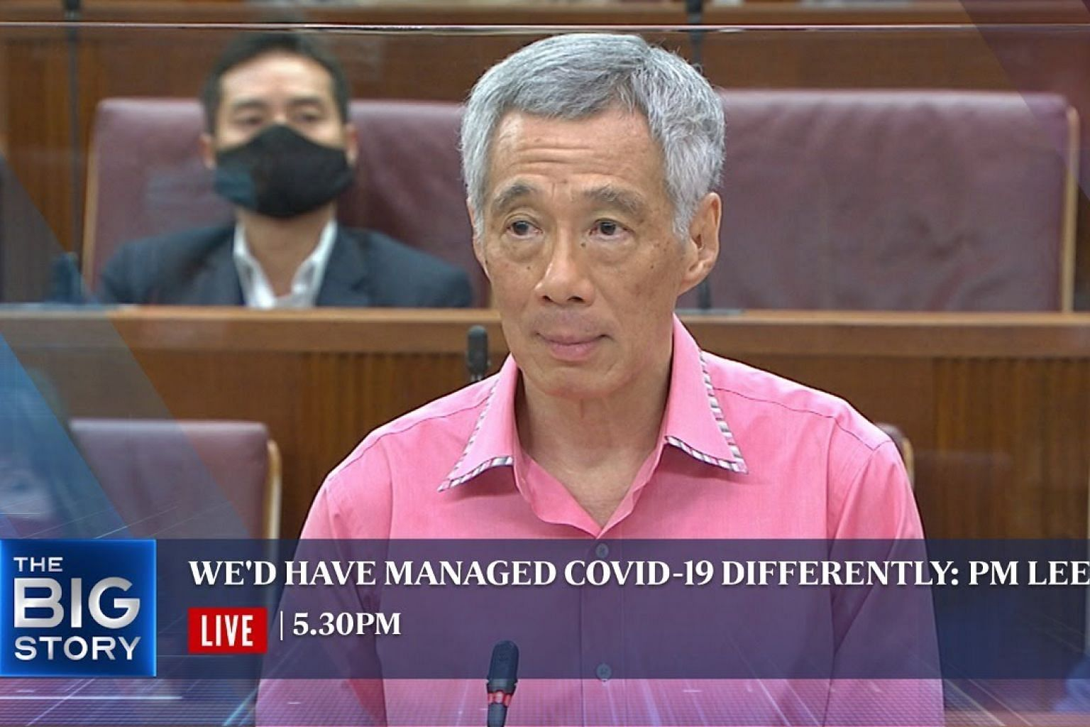 PM Lee delivers speech in Parliament on S'pore's response to Covid-19 crisis   THE BIG STORY