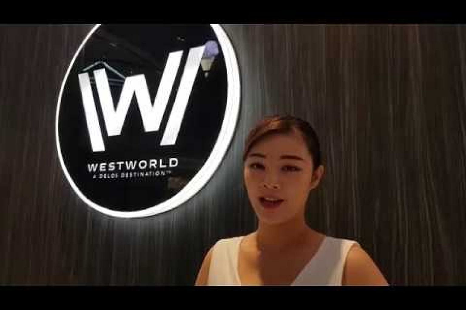 Westworld VR booth at Ion Orchard