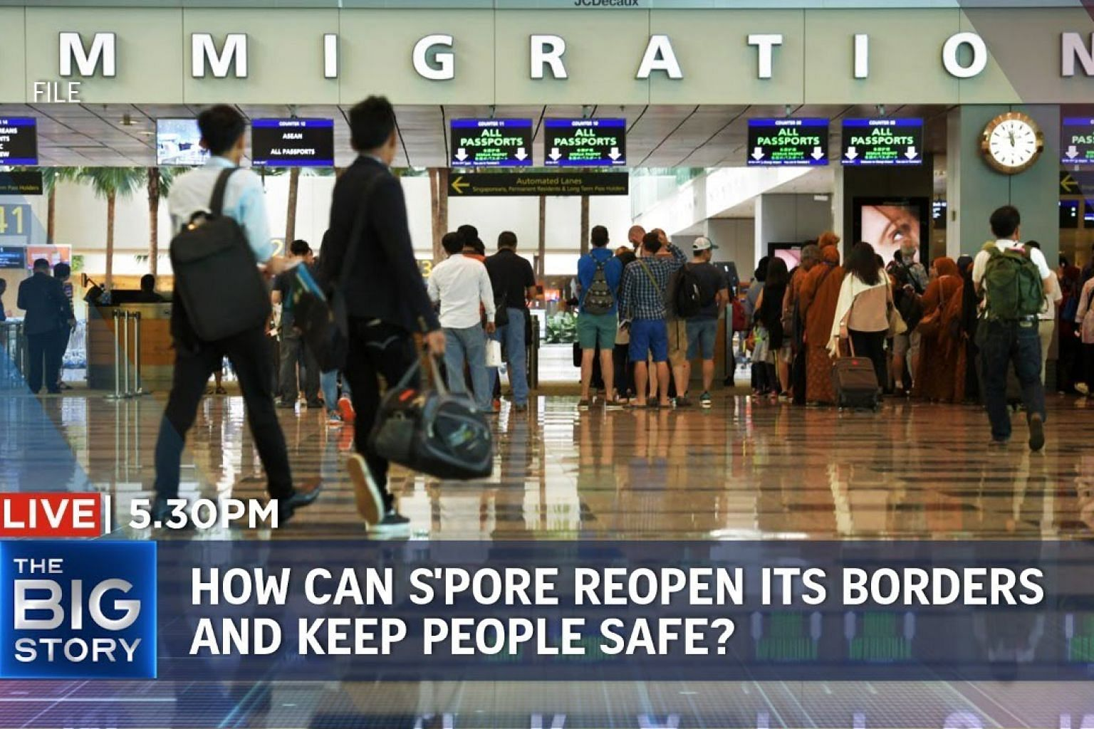 S'pore's balancing act for travel – reopening borders while keeping people safe | THE BIG STORY