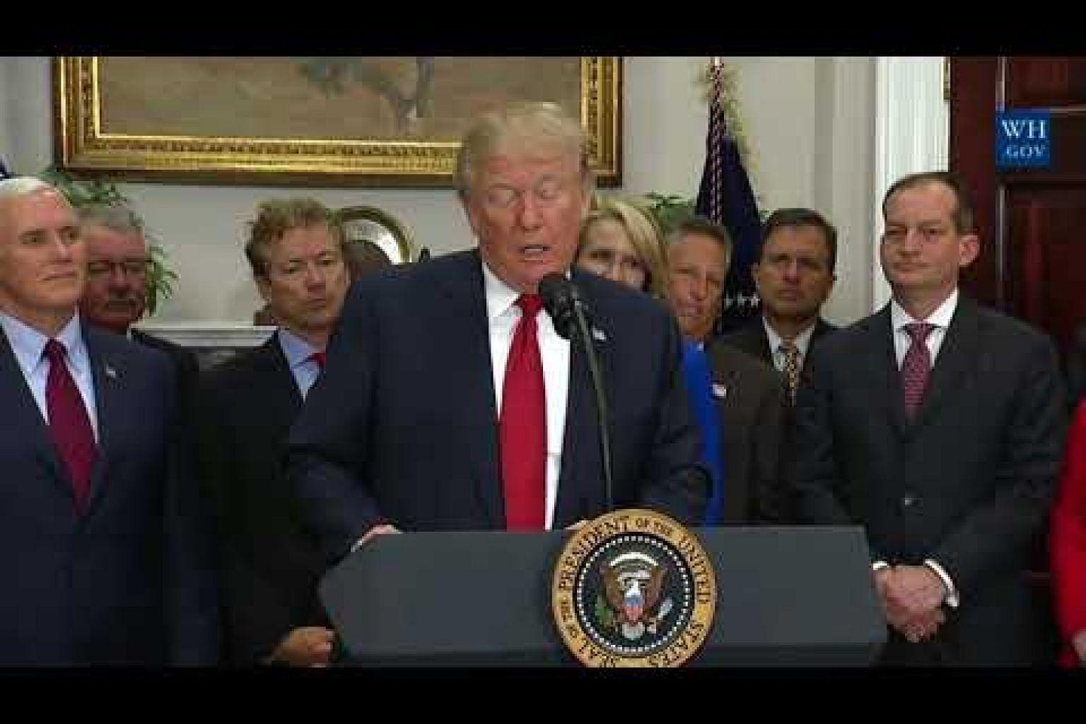Trump tax cuts gain momentum