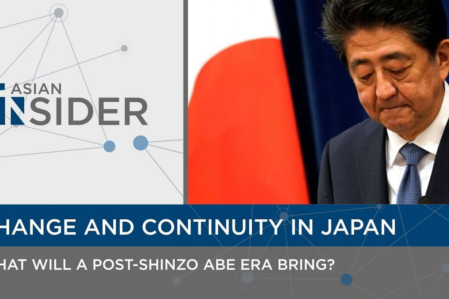 Change and Continuity in Japan: What will a post-Shinzo Abe era bring? | Asian Insider EP38