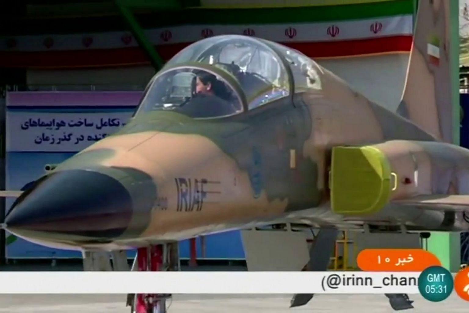 Eyeing US, Iran unveils new fighter jet