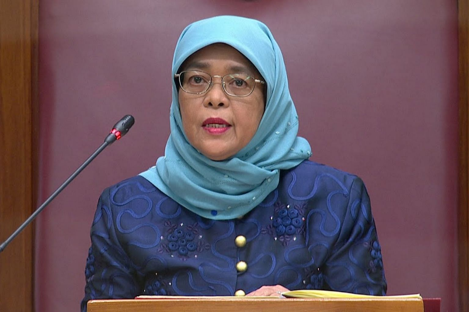 President Halimah Yacob to deliver address for opening of 14th Parliament   ST LIVE