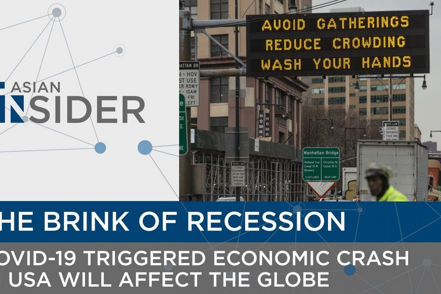 The Brink of Recession   Asian Insider EP29   The Straits Times