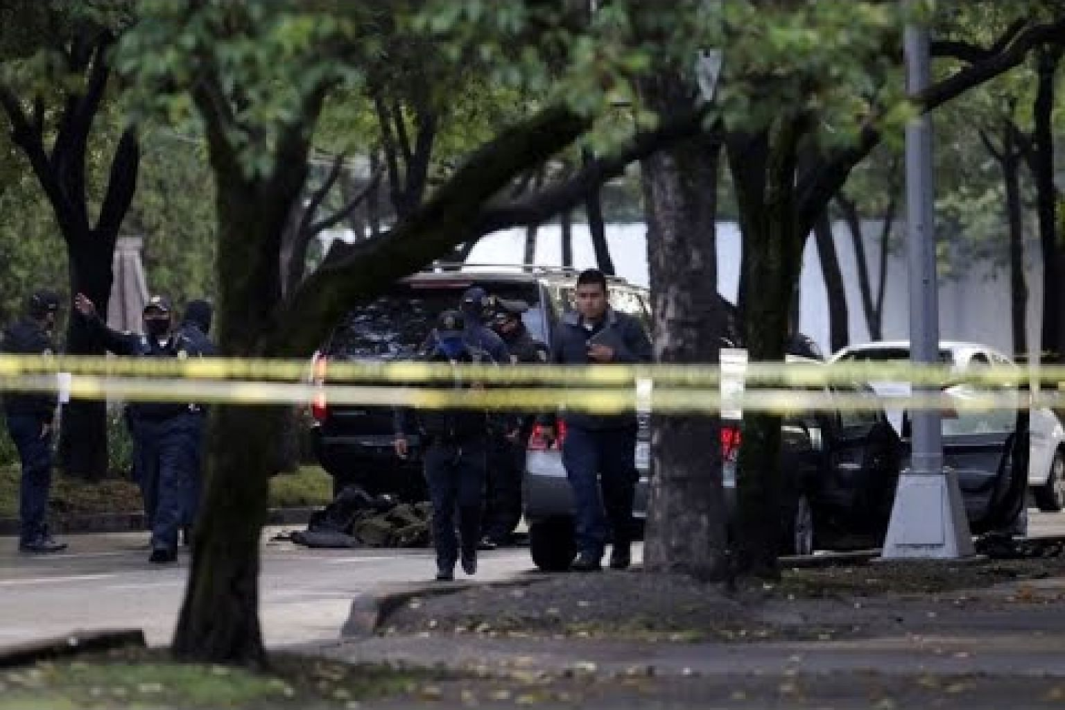 Mexico City police chief shot in assassination attempt