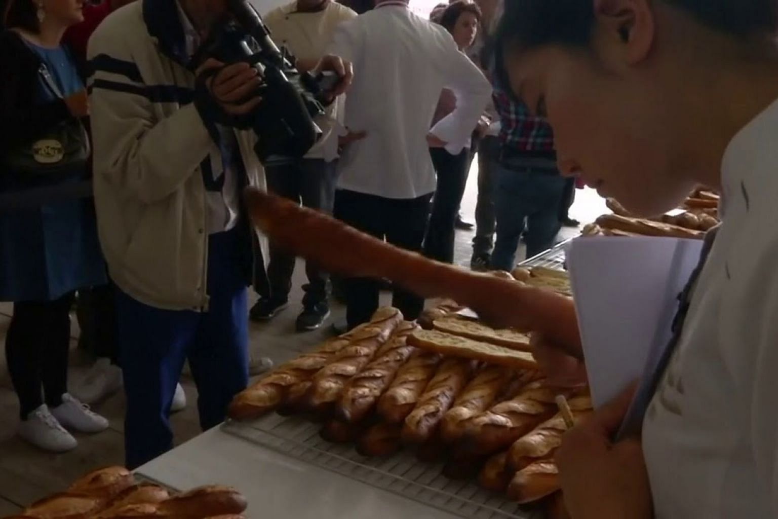 French bakers vie for prestigious title of Best Baguette