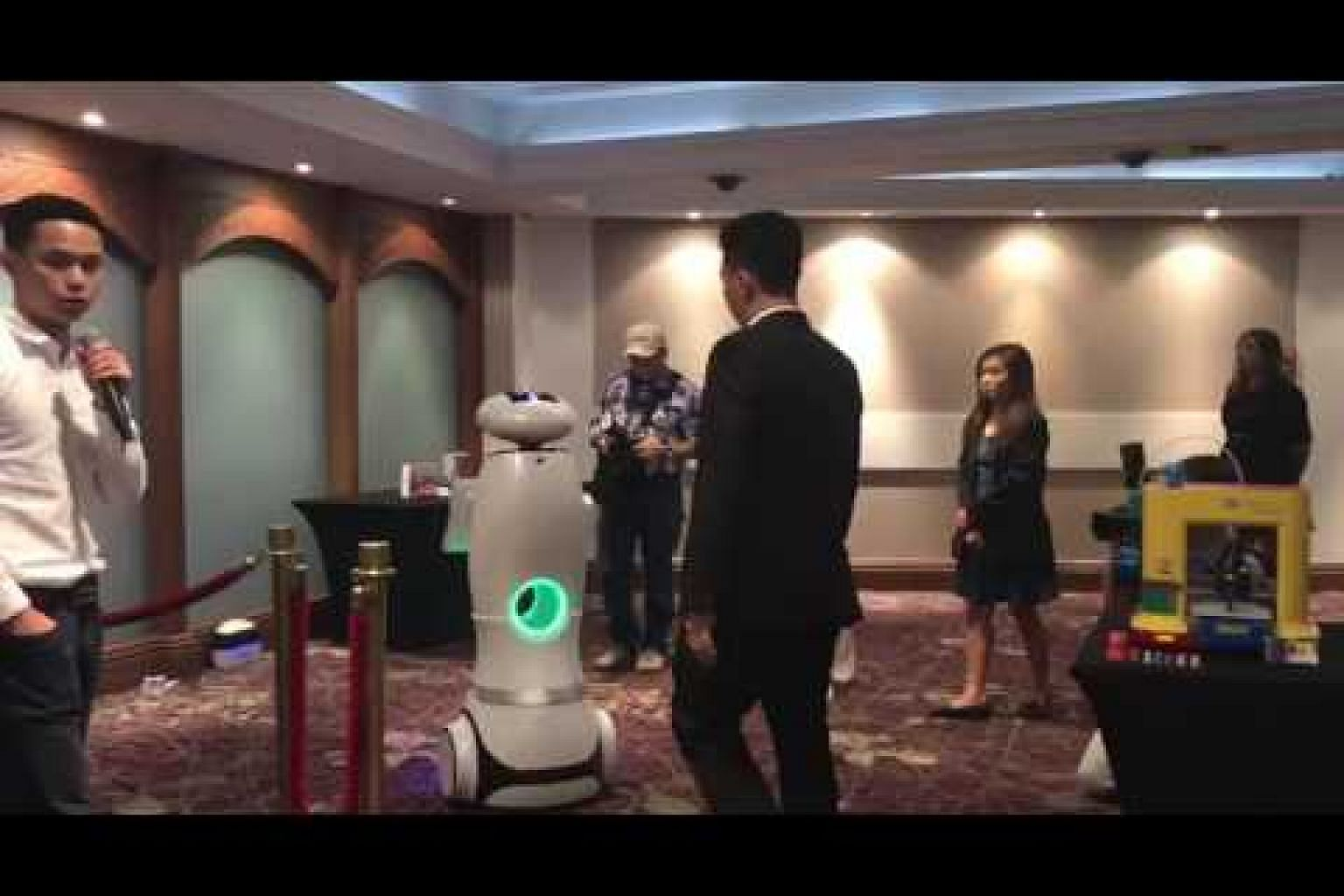 Live demonstration of the XYZrobot