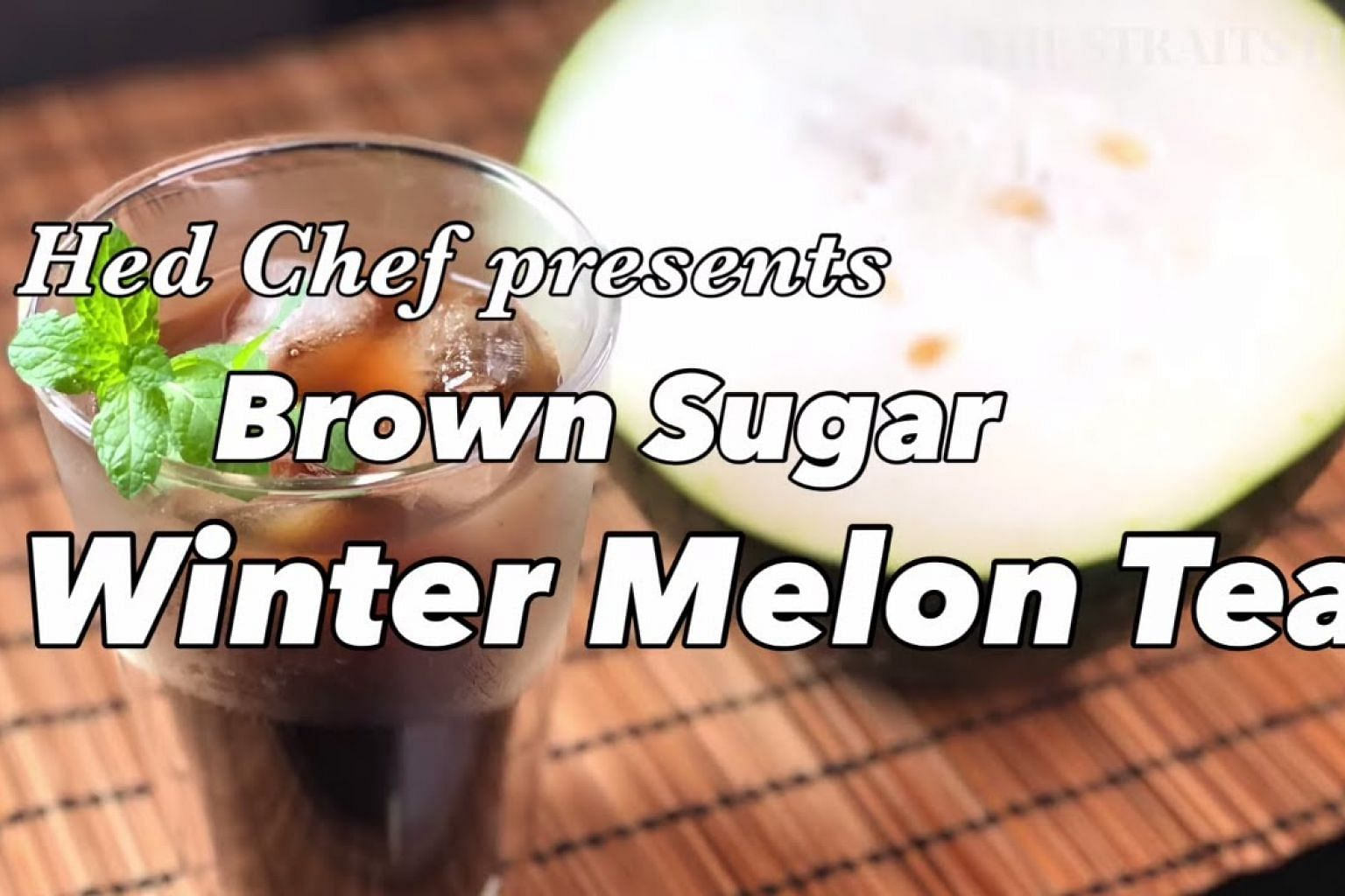 How To Make Brown Sugar Winter Melon Tea