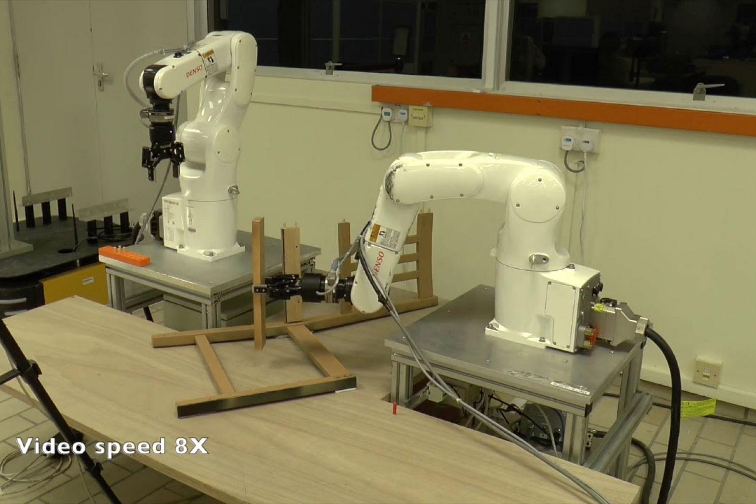 Can robots assemble an IKEA chair?