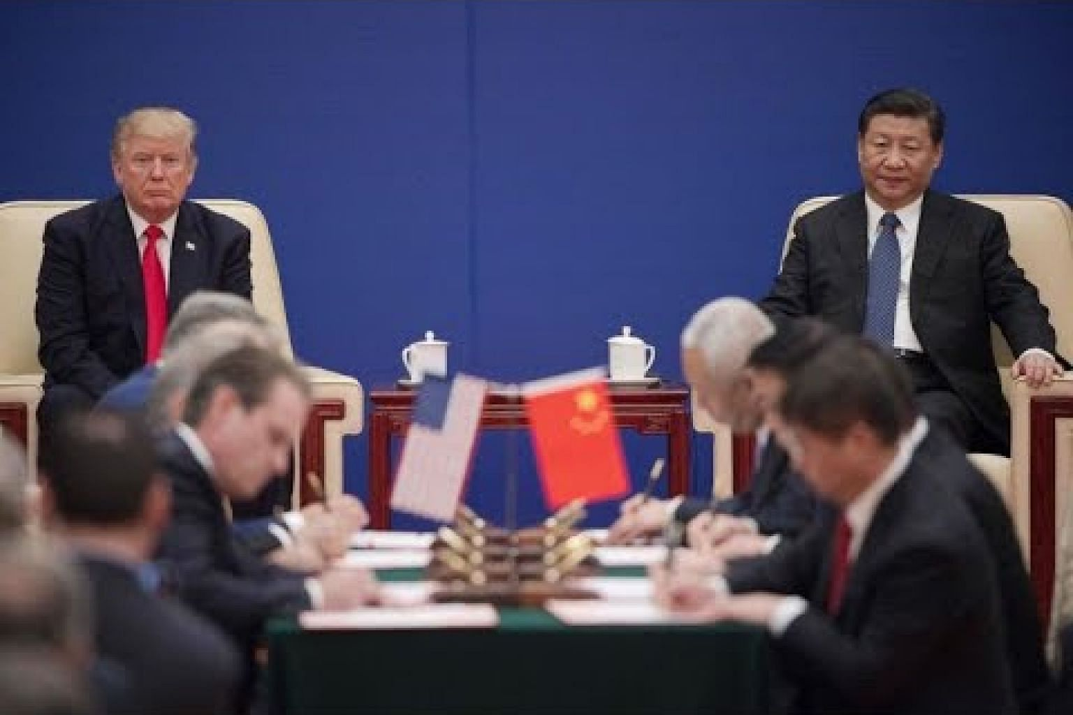 A new cold war? US and China's power play
