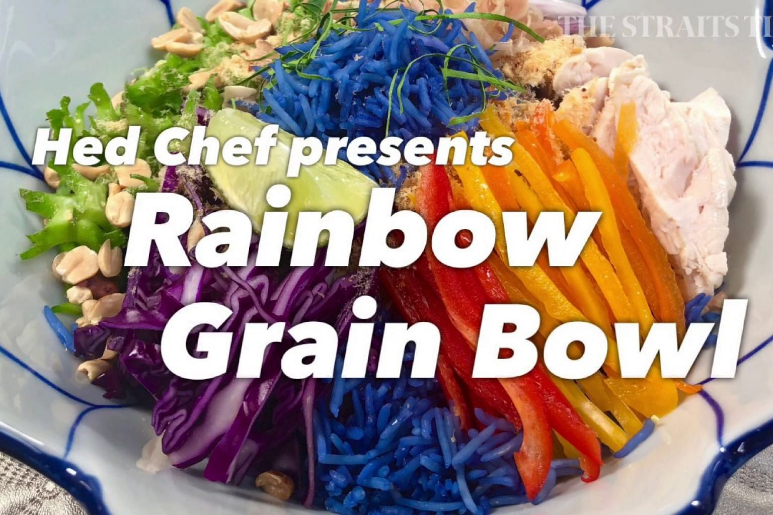 Hed Chef presents: Rainbow Grain Bowl