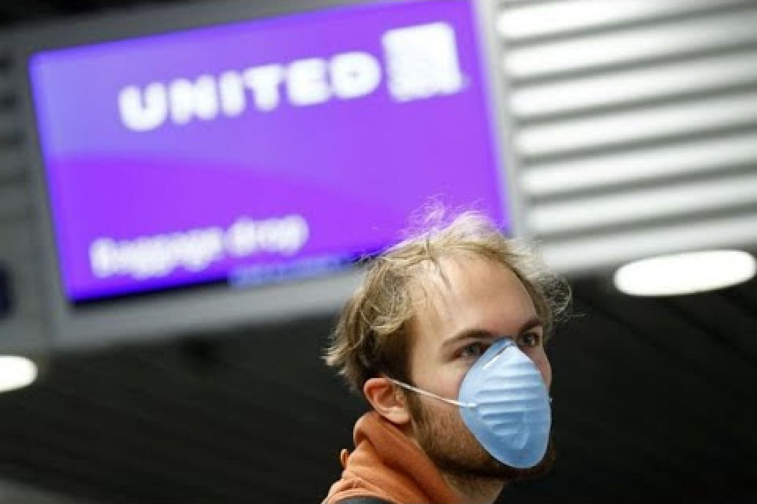 United Airlines warns 45 per cent of staff face furlough