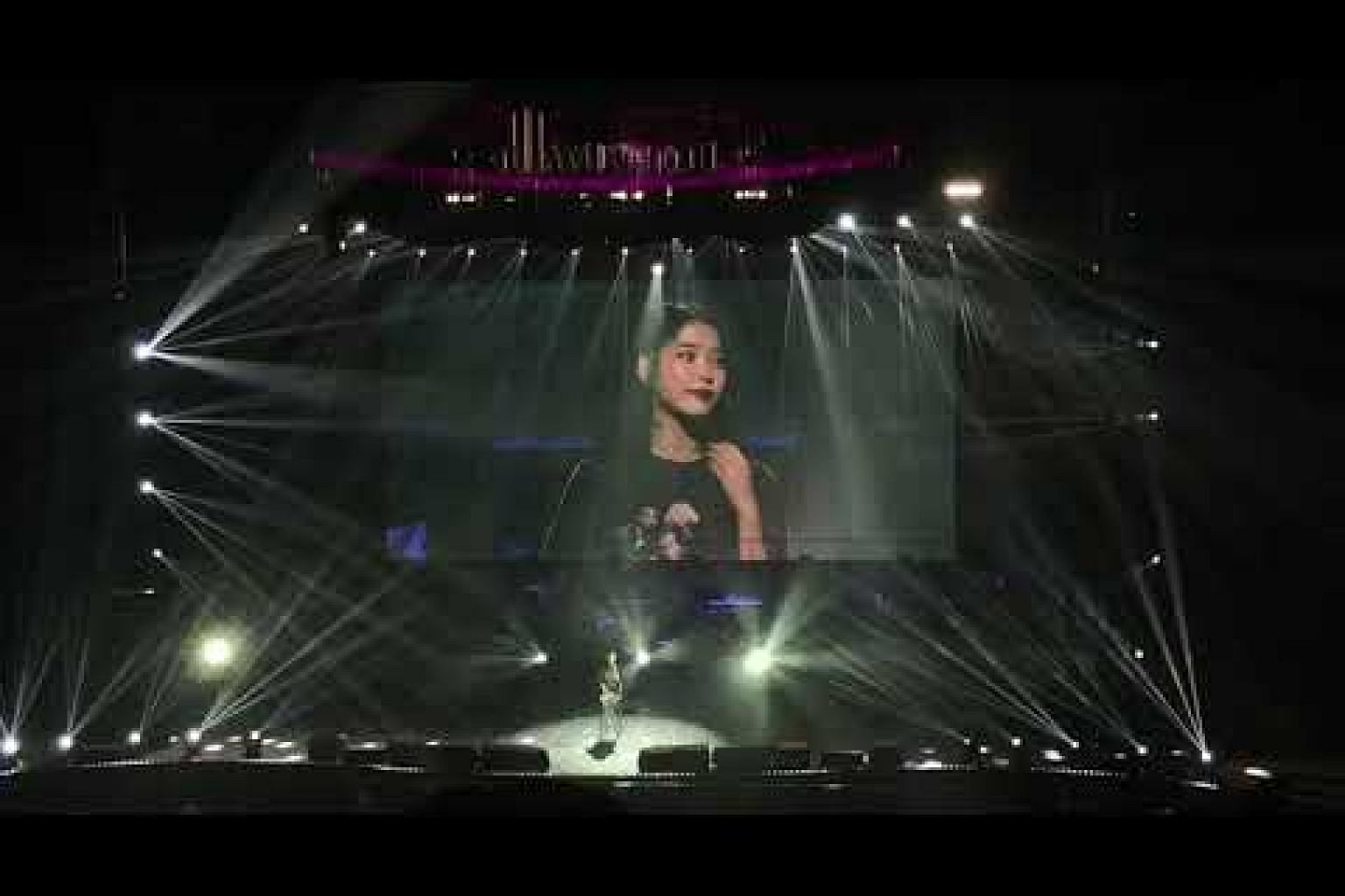 IU at her second encore singing Heart, part of the soundtrack for K-drama, Producers