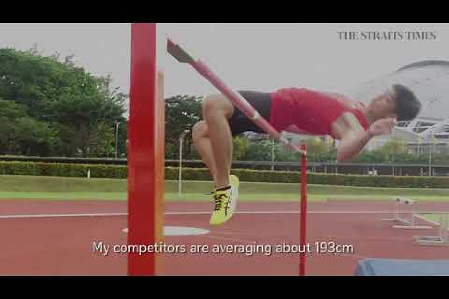 Up In The Air | High jumper Kampton Kam | Toughest Part of Sport