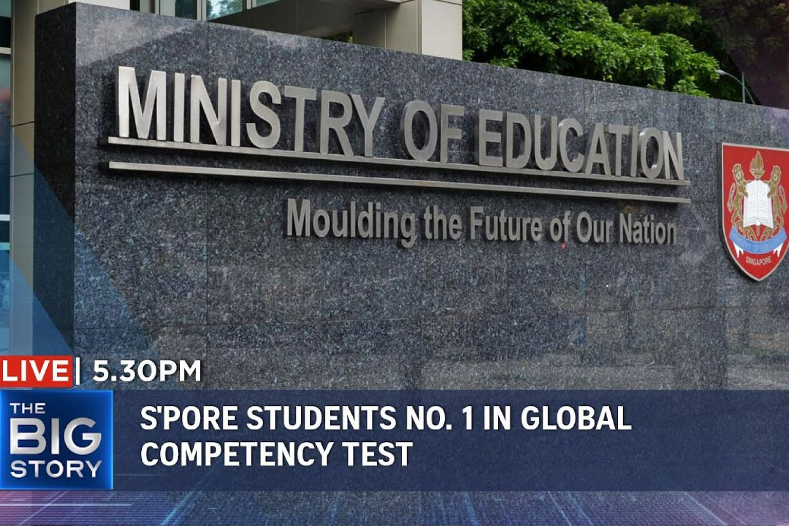 S'pore's 15-year-olds top global competency test | Thailand lifts emergency decree | THE BIG STORY