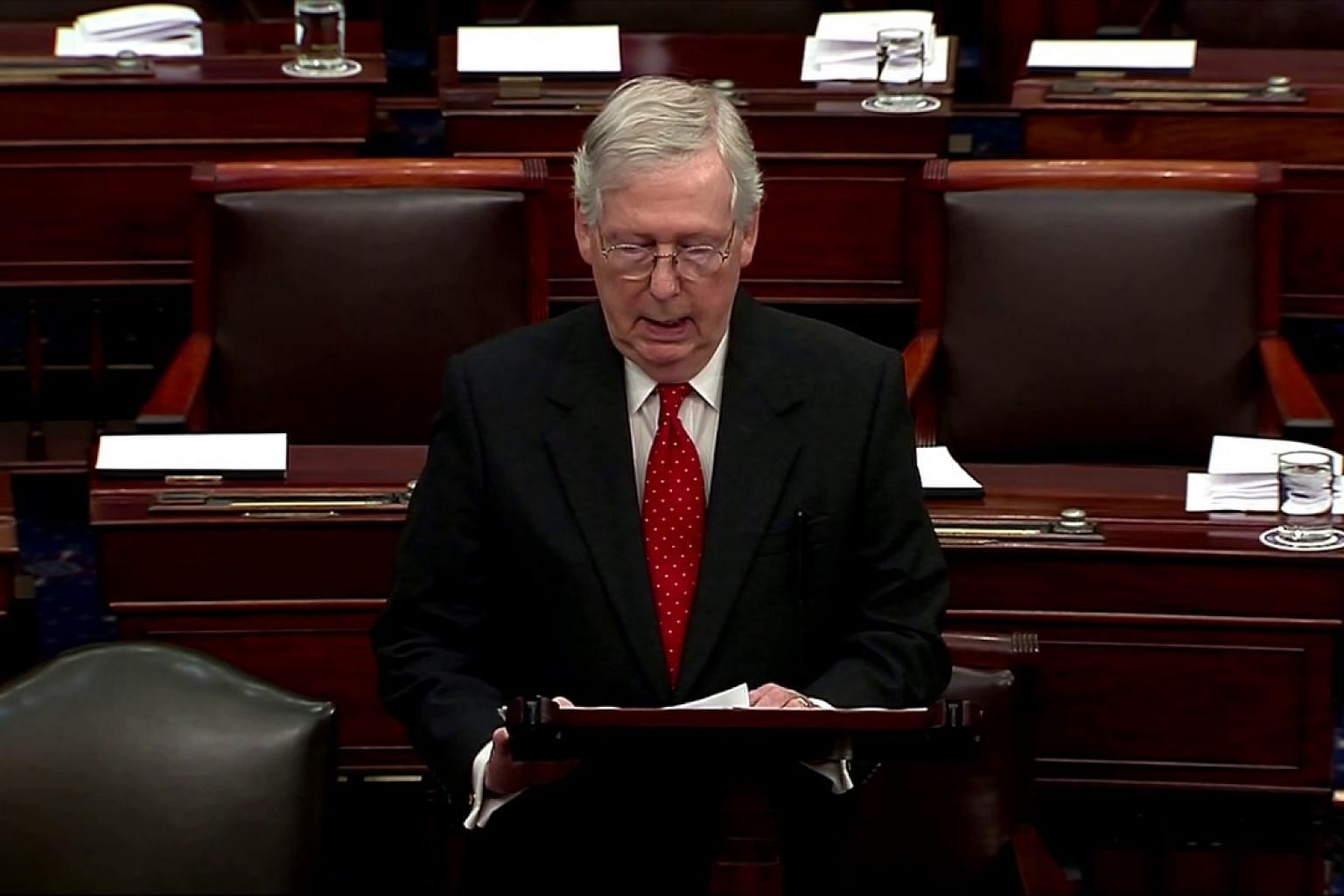 McConnell, Schumer spar over Trump impeachment 'rules'