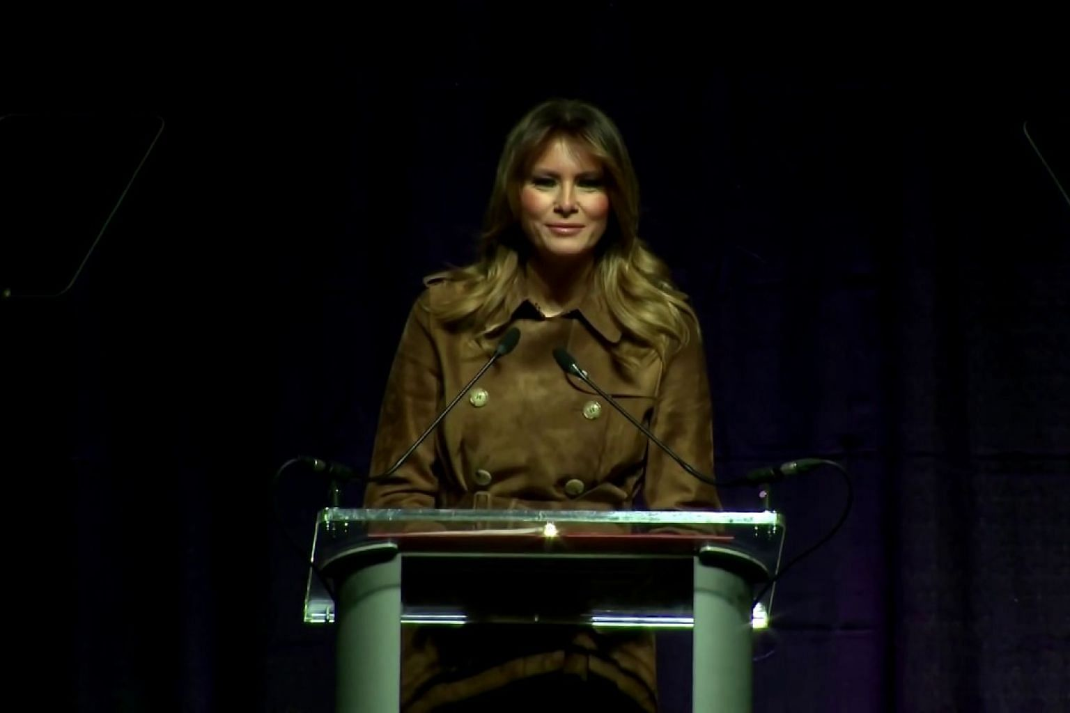 Melania Trump booed at youth opioid awareness event in Baltimore