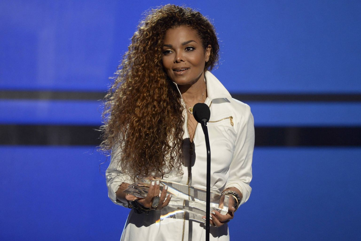 Winners all: Janet Jackson (above left) and Nicki Minaj at the BET Awards.