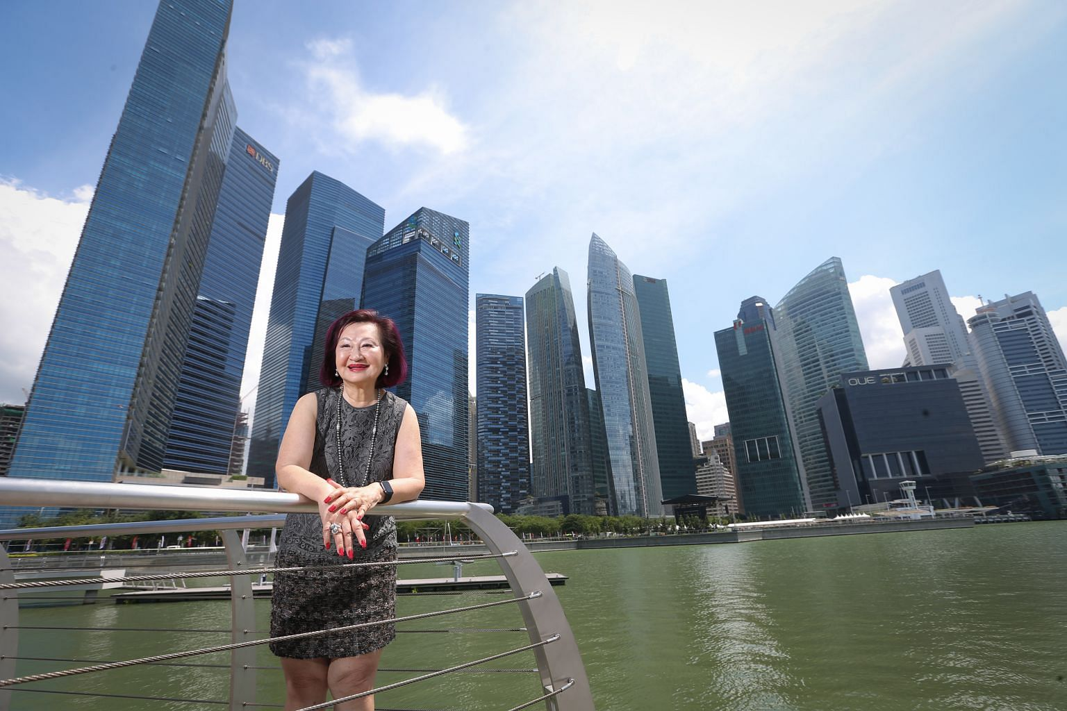 Mrs Elizabeth Sam, 76, was given the task of promoting the Asian Dollar Market and other financial markets, such as the foreign exchange market. From 1971 to 1981, she met many offshore bankers and laid out Singapore's advantages - including its good