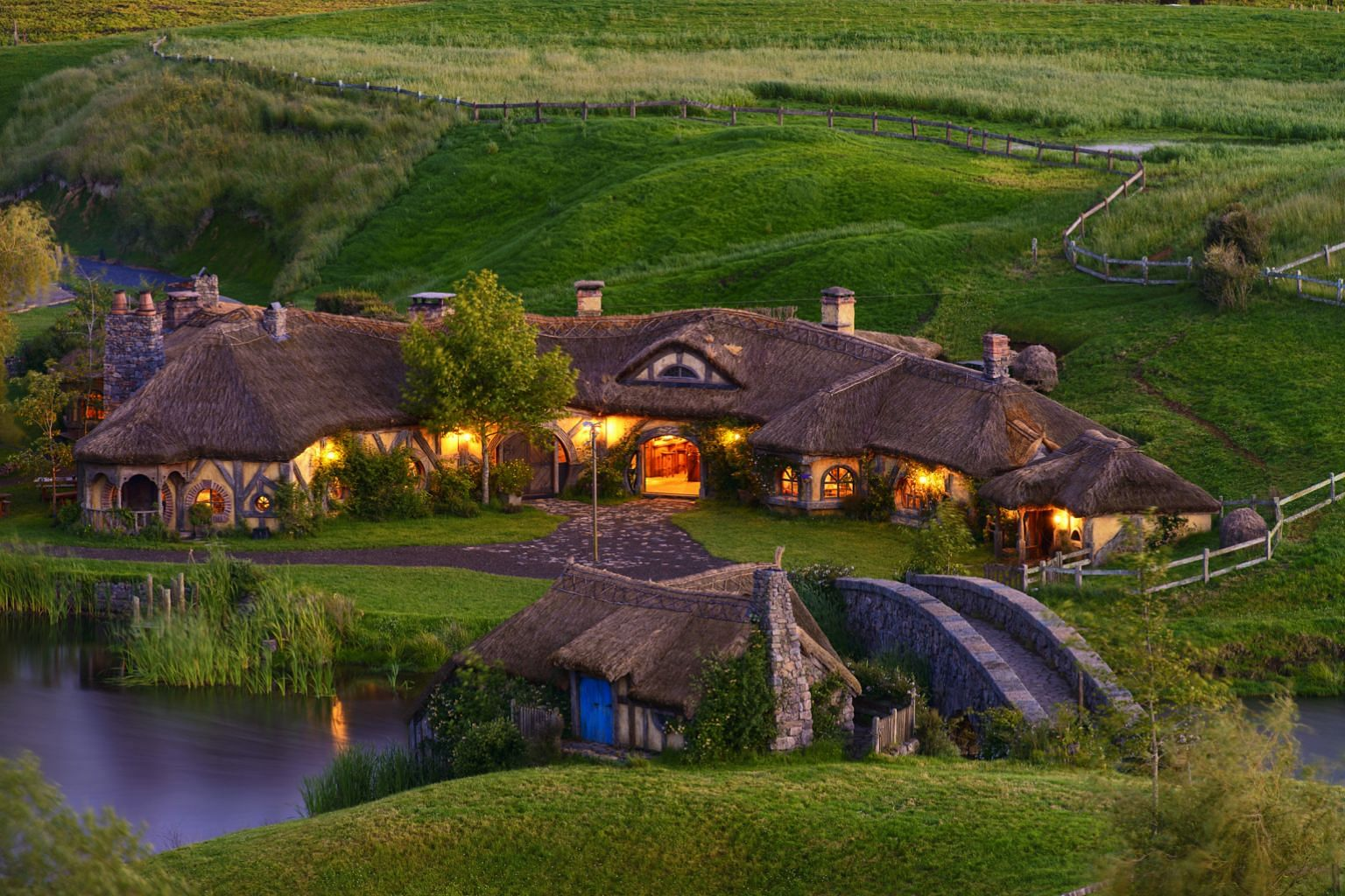 The movie set of The Hobbit (far left) in New Zealand is a hot holiday destination among travellers from Singapore, says Dynasty Travel. It adds that Finland is also popular, and visitors can stay in a glass igloo (left) and, if they are lucky, catch
