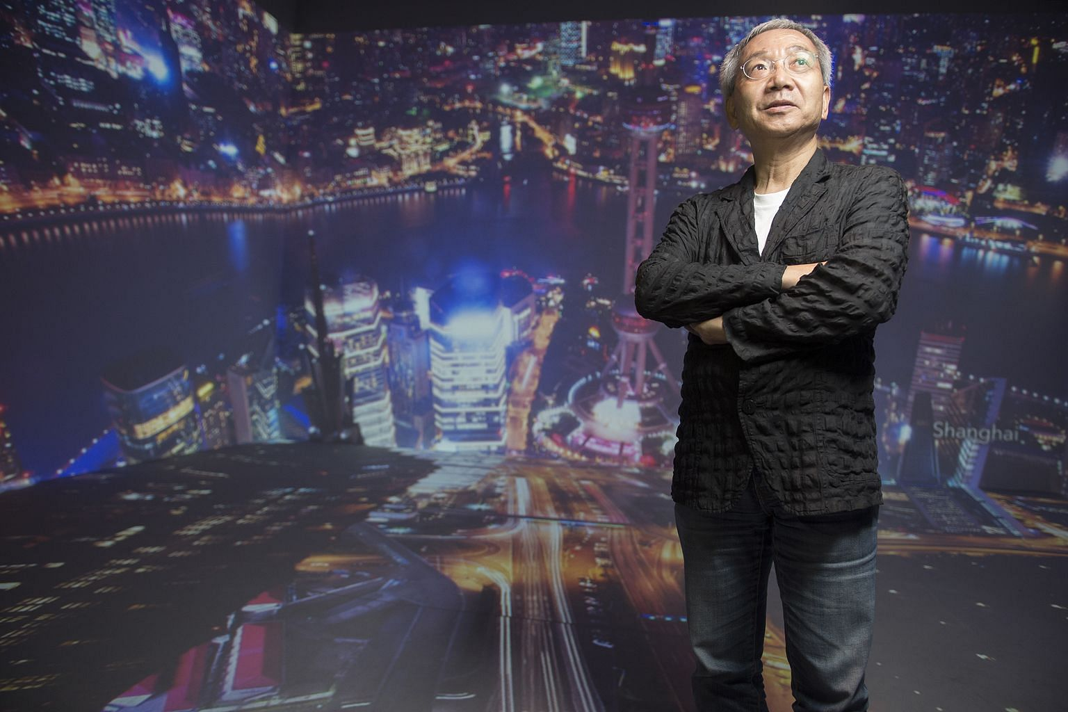 Award-winning lighting designer Kaoru Mende and his team organised the exhibition to show how cities and people use light.